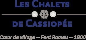 les_chalets_de_cassiopee_font_romeu_logo